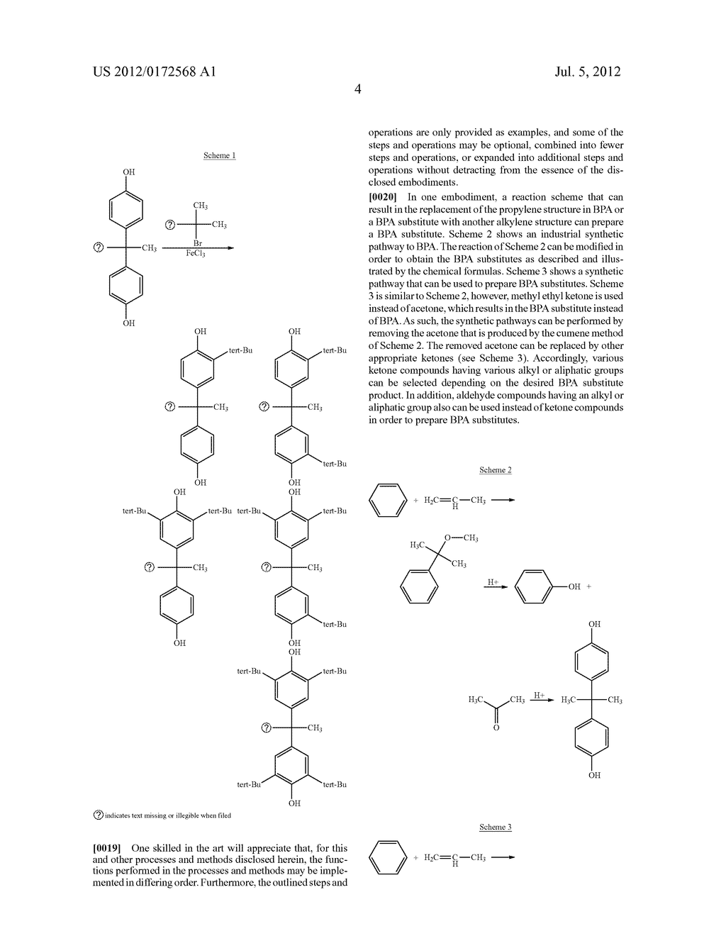 SUBSTANCES FOR USE AS BISPHENOL A SUBSTITUTES - diagram, schematic, and image 06