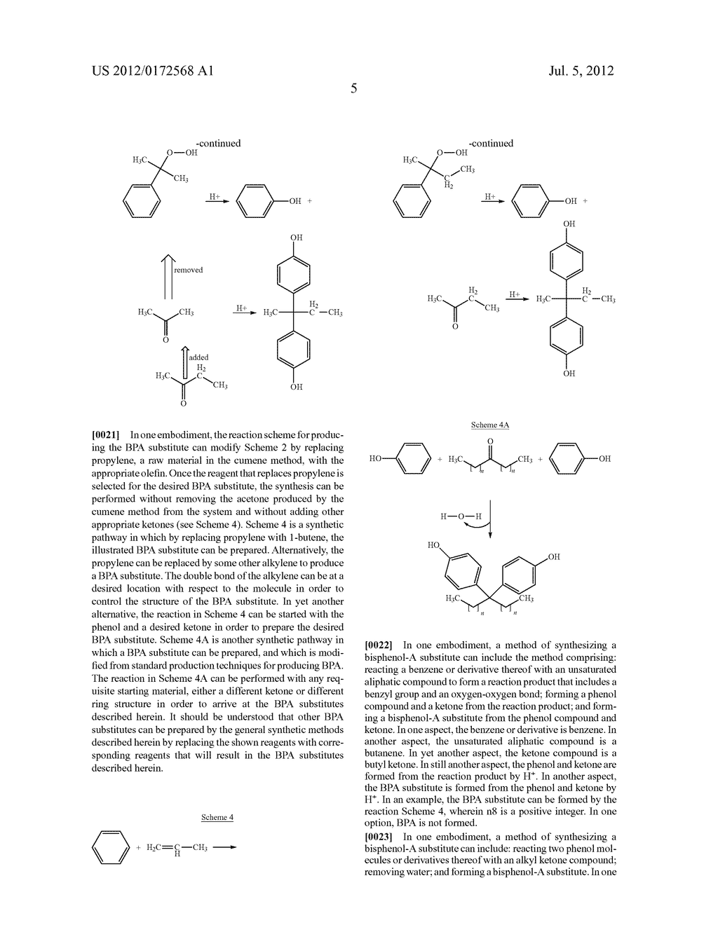 SUBSTANCES FOR USE AS BISPHENOL A SUBSTITUTES - diagram, schematic, and image 07