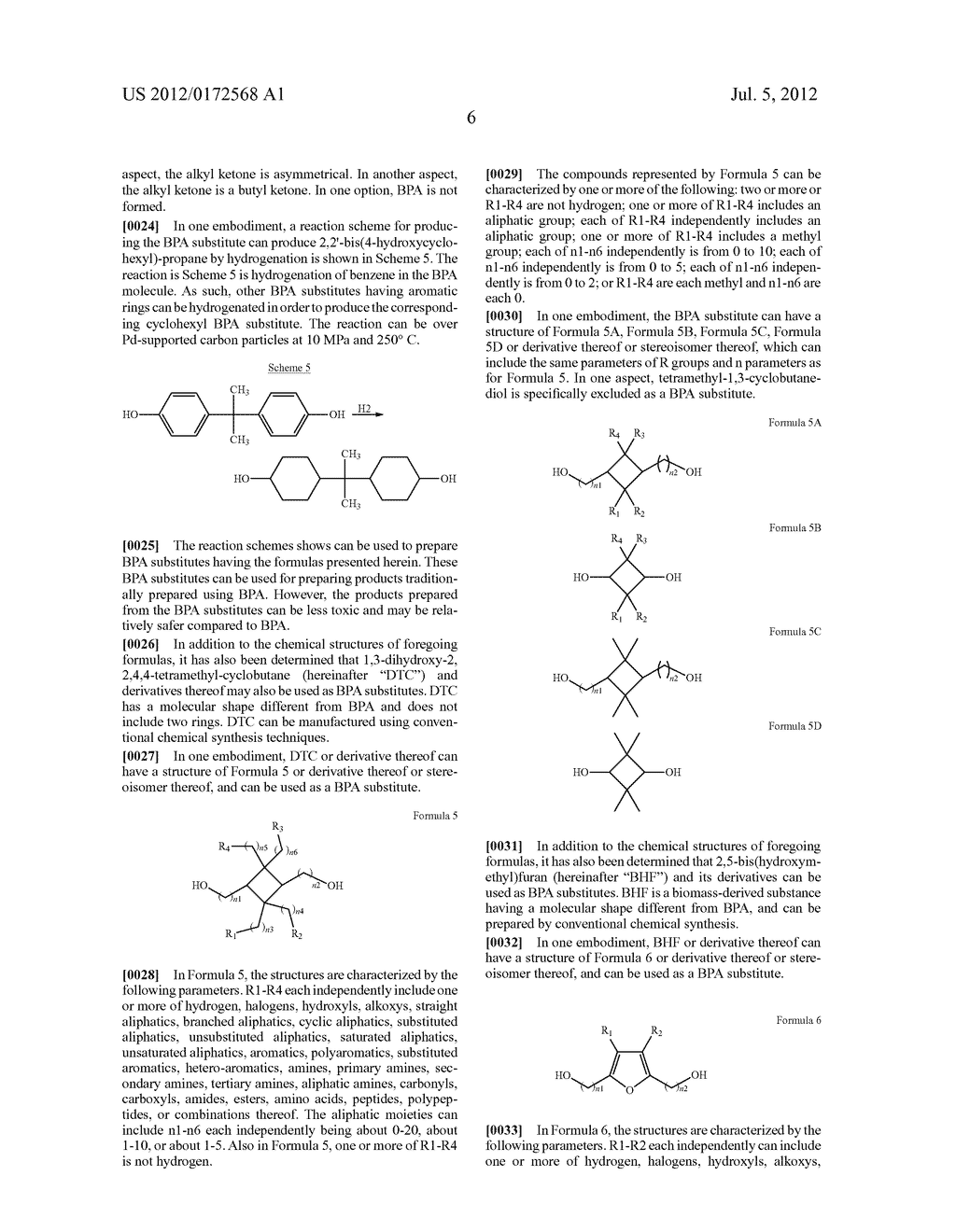 SUBSTANCES FOR USE AS BISPHENOL A SUBSTITUTES - diagram, schematic, and image 08
