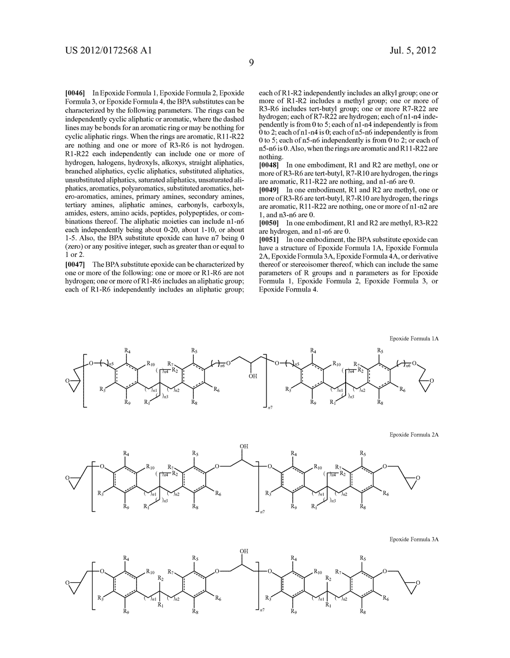 SUBSTANCES FOR USE AS BISPHENOL A SUBSTITUTES - diagram, schematic, and image 11