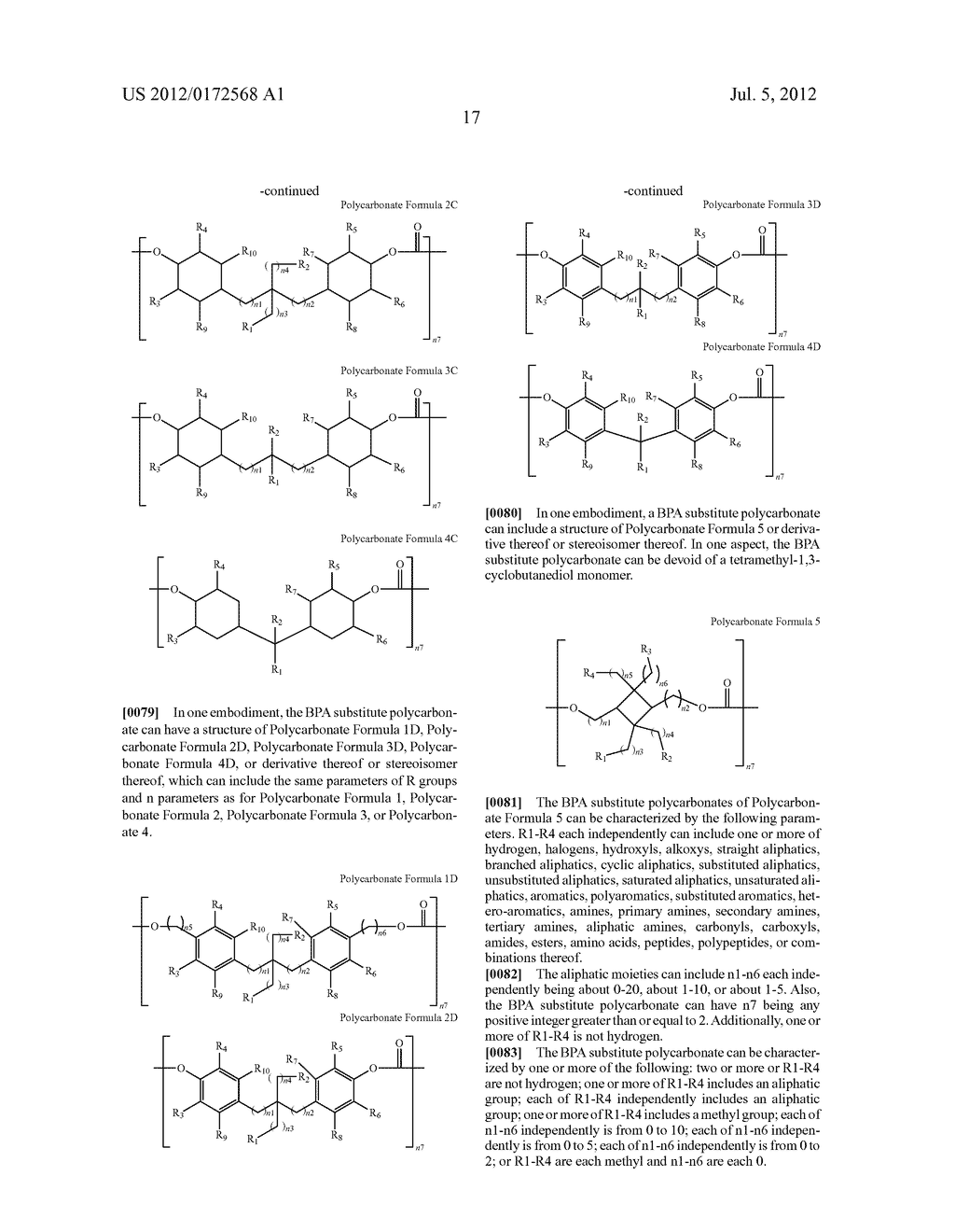 SUBSTANCES FOR USE AS BISPHENOL A SUBSTITUTES - diagram, schematic, and image 19