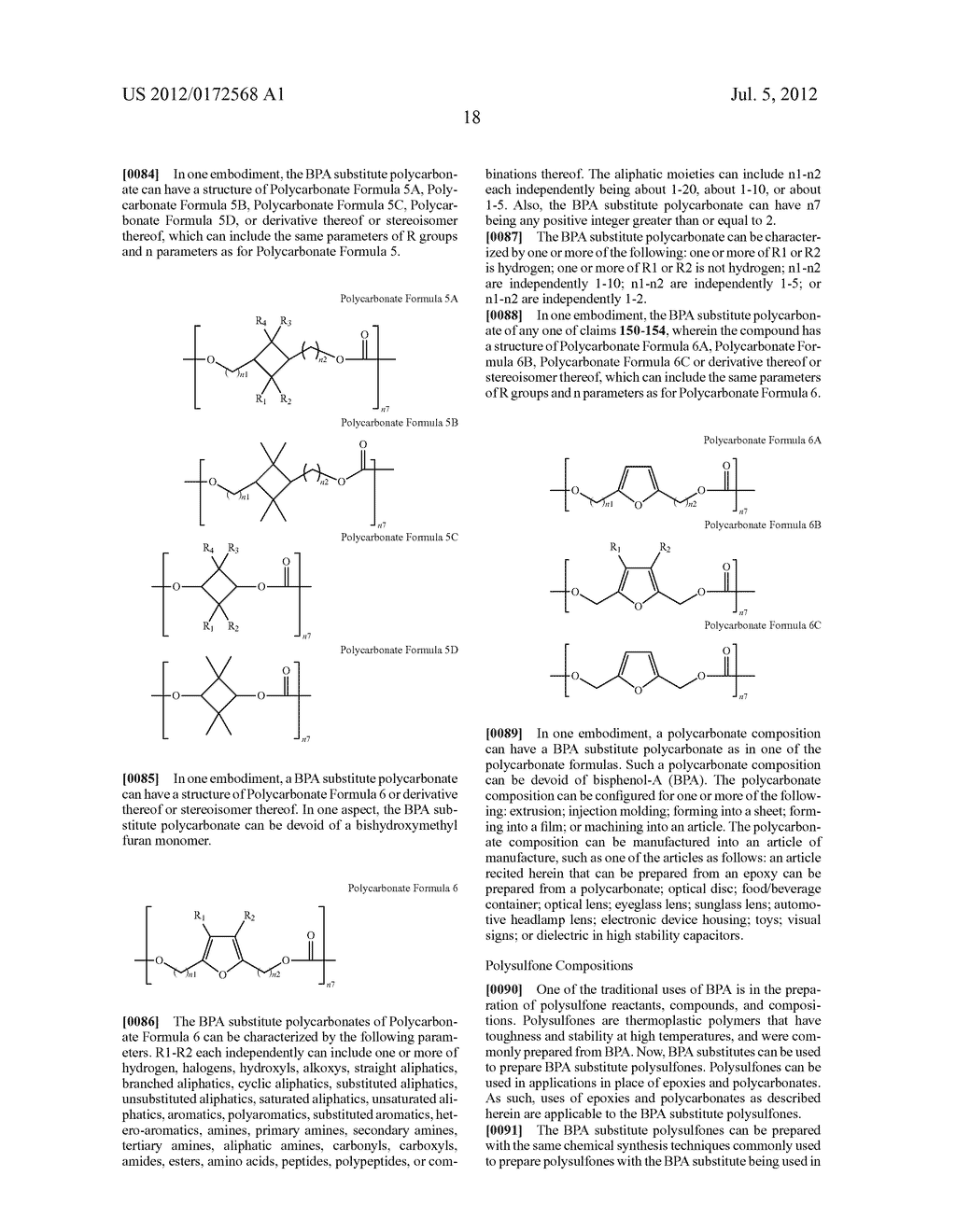 SUBSTANCES FOR USE AS BISPHENOL A SUBSTITUTES - diagram, schematic, and image 20