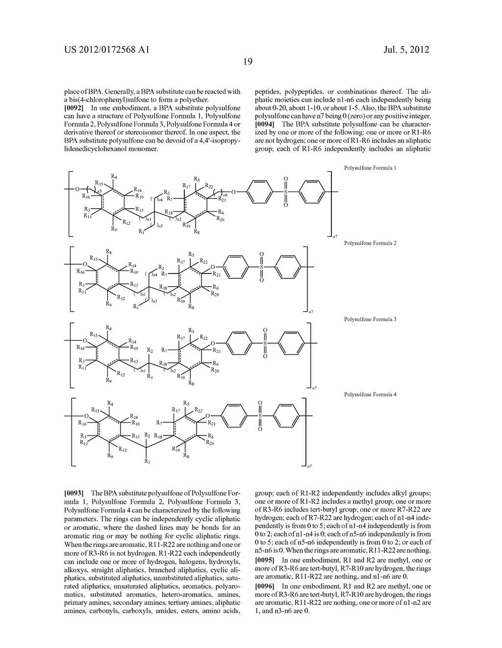 SUBSTANCES FOR USE AS BISPHENOL A SUBSTITUTES - diagram, schematic, and image 21