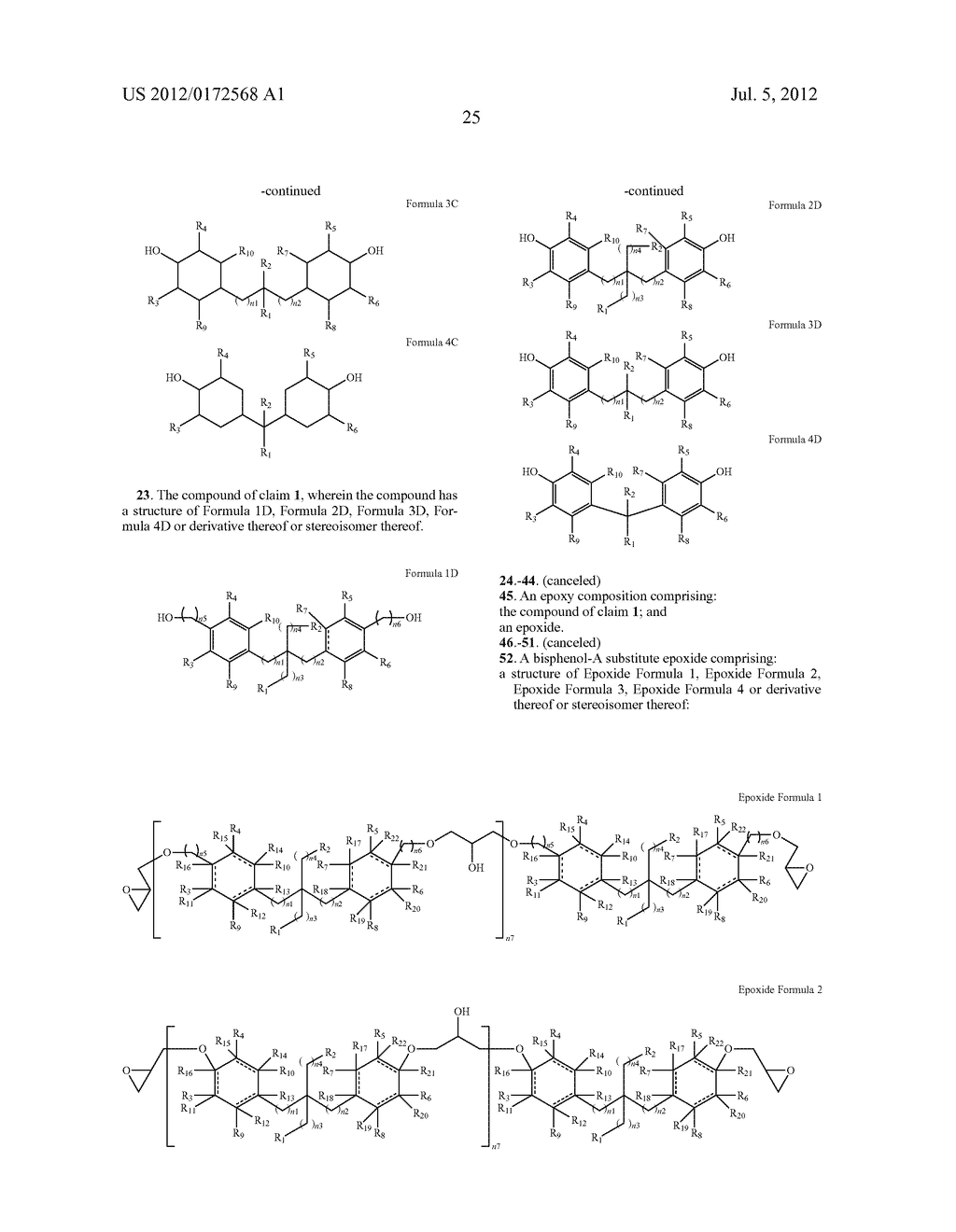 SUBSTANCES FOR USE AS BISPHENOL A SUBSTITUTES - diagram, schematic, and image 27