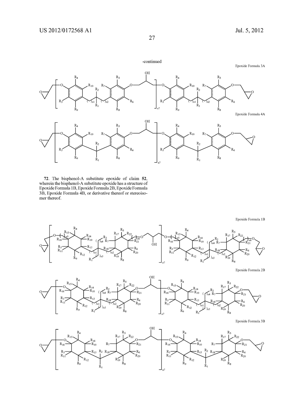 SUBSTANCES FOR USE AS BISPHENOL A SUBSTITUTES - diagram, schematic, and image 29