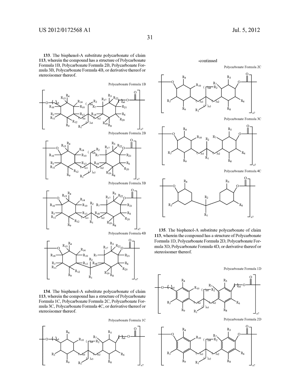 SUBSTANCES FOR USE AS BISPHENOL A SUBSTITUTES - diagram, schematic, and image 33