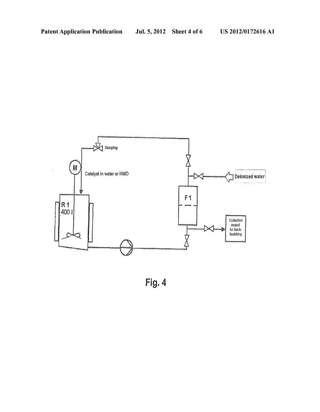 METHOD OF SEPARATING OFF MAGNETIZABLE CATALYST PARTICLES BY MEANS OF     MAGNETIC FILTERS - diagram, schematic, and image 05