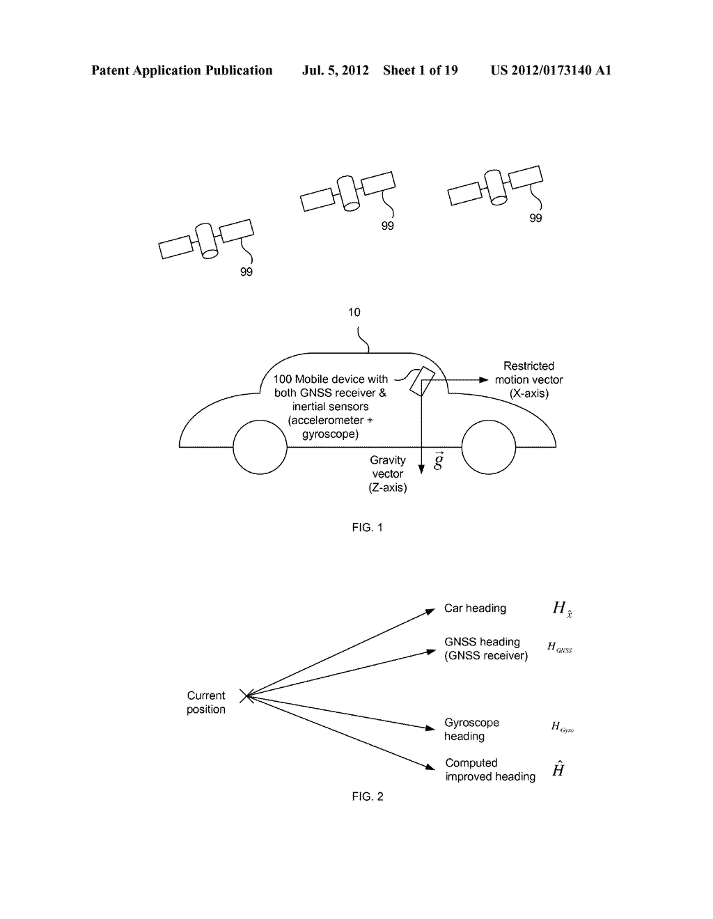 INERTIAL SENSOR AIDED HEADING AND POSITIONING FOR GNSS VEHICLE NAVIGATION - diagram, schematic, and image 02