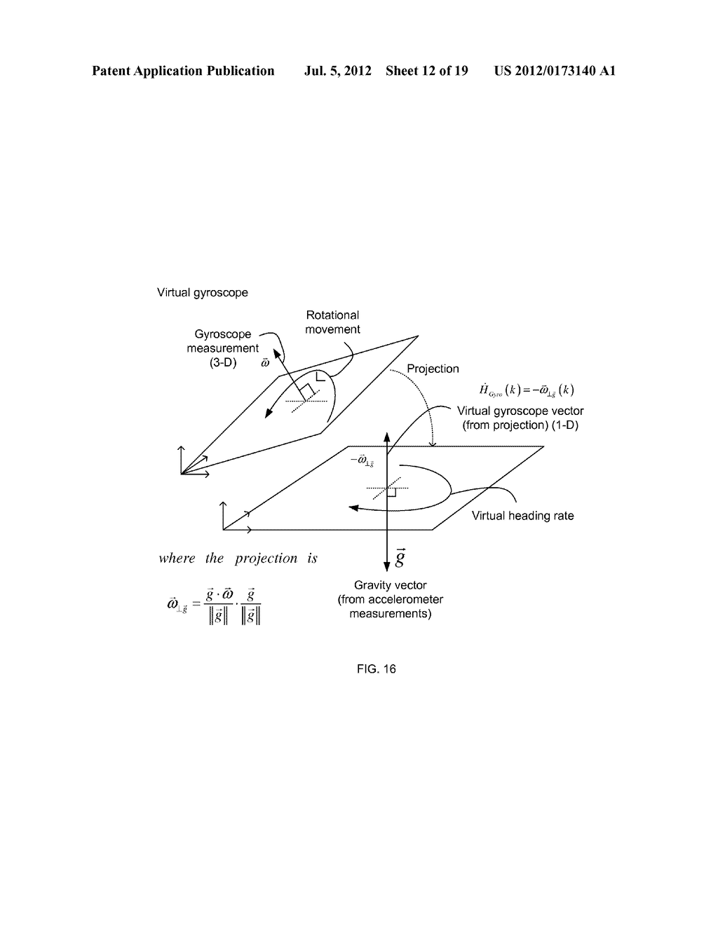 INERTIAL SENSOR AIDED HEADING AND POSITIONING FOR GNSS VEHICLE NAVIGATION - diagram, schematic, and image 13