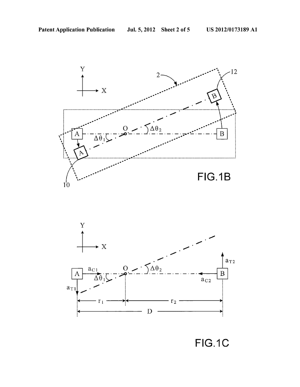 METHOD AND MODULE FOR MEASURING ROTATION AND PORTABLE APPARATUS COMPRISING     THE MODULE - diagram, schematic, and image 03