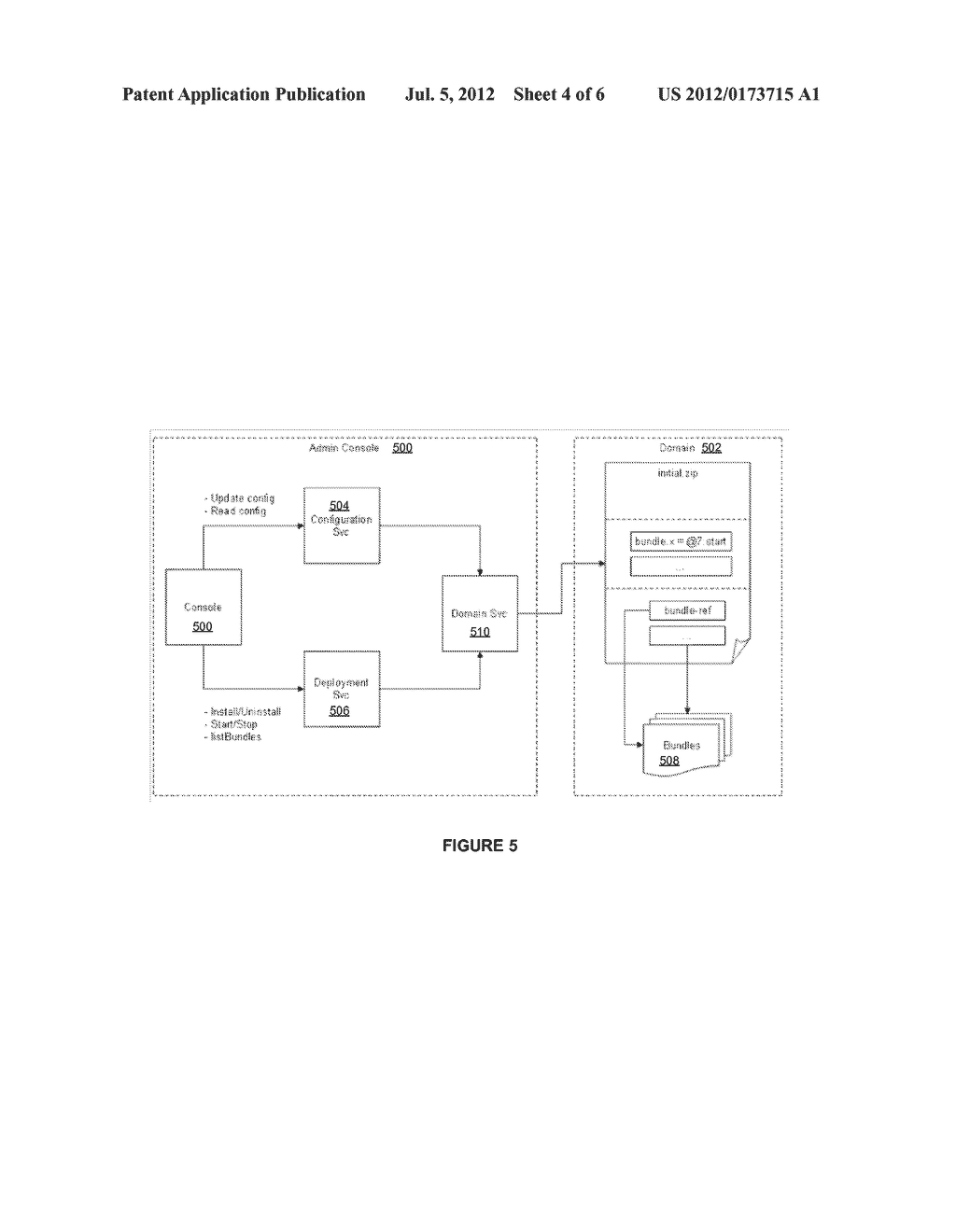 APPLICATION SERVER PLATFORM FOR TELECOM-BASED APPLICATIONS USING AN ACTOR     CONTAINER - diagram, schematic, and image 05