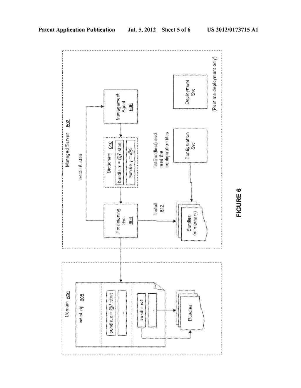 APPLICATION SERVER PLATFORM FOR TELECOM-BASED APPLICATIONS USING AN ACTOR     CONTAINER - diagram, schematic, and image 06