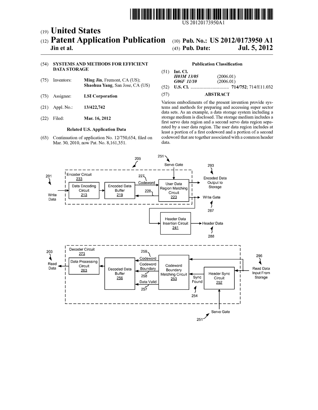 Systems and Methods for Efficient Data Storage - diagram, schematic, and image 01