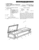 ECOLOGICALLY FRIENDLY, FURNITURE QUALITY CASKET diagram and image