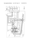 SUPERCHARGED LIQUID-COOLED INTERNAL COMBUSTION ENGINE diagram and image