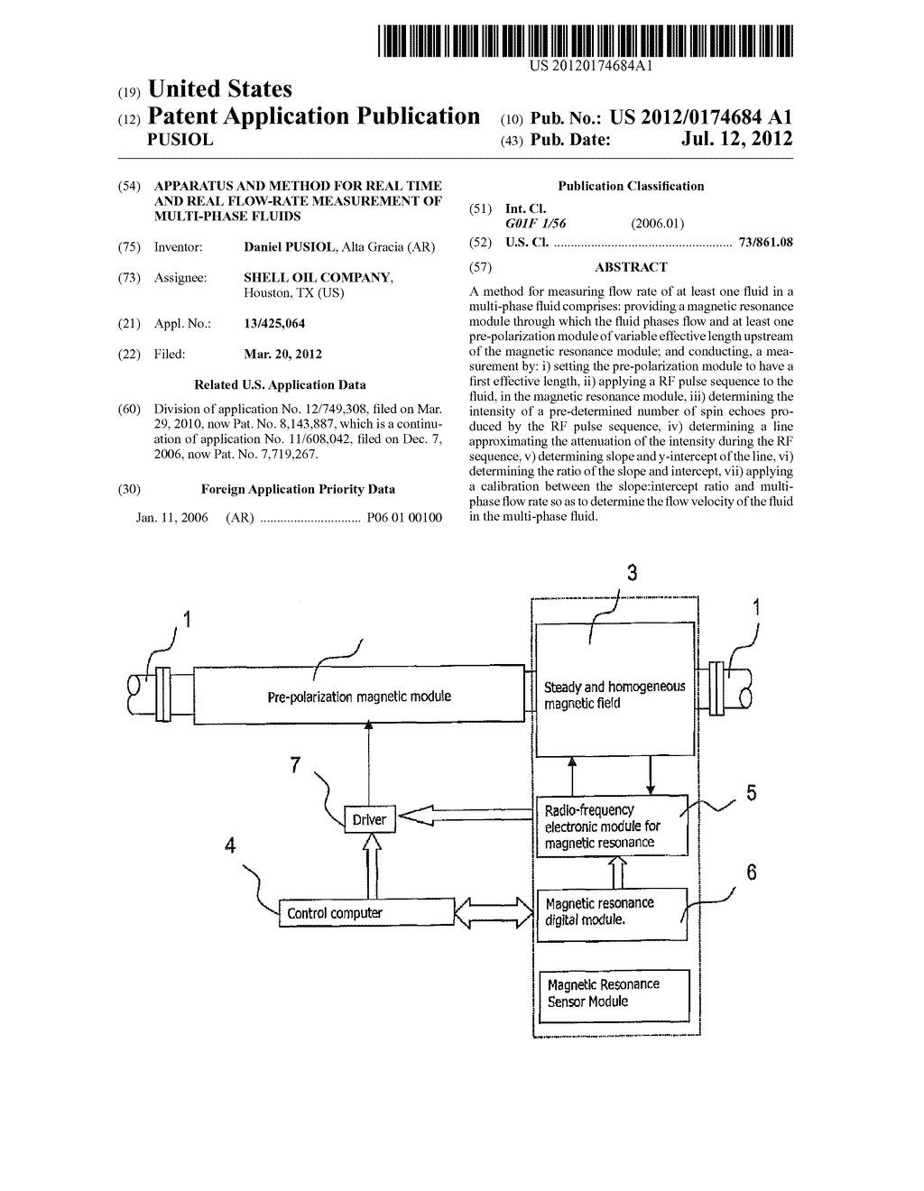 APPARATUS AND METHOD FOR REAL TIME AND REAL FLOW-RATE MEASUREMENT OF     MULTI-PHASE FLUIDS - diagram, schematic, and image 01