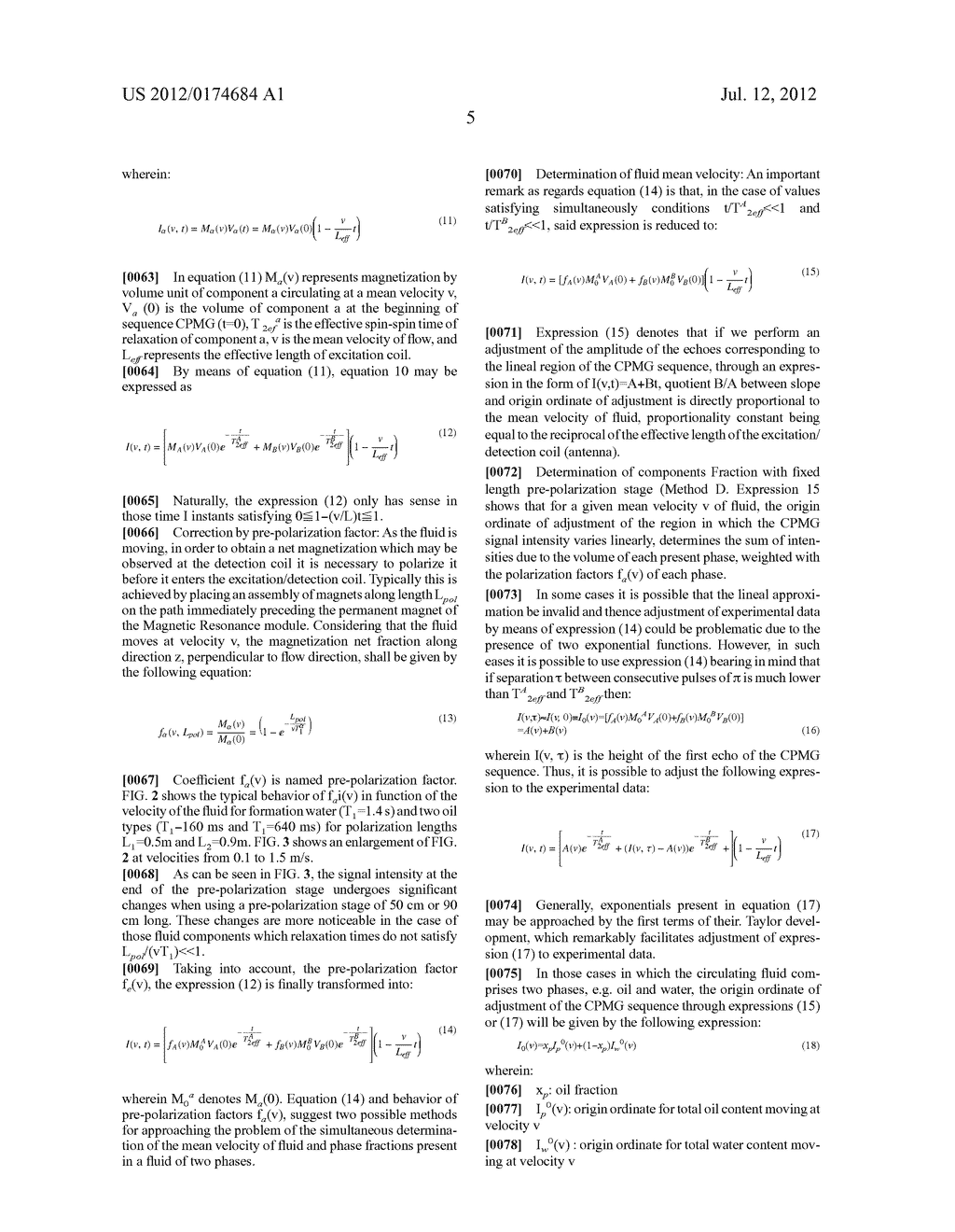 APPARATUS AND METHOD FOR REAL TIME AND REAL FLOW-RATE MEASUREMENT OF     MULTI-PHASE FLUIDS - diagram, schematic, and image 14