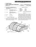 LIGHTWEIGHT ARMOR PROTECTED SHELTERS AND METHODS OF PREPARING SUCH     SHELTERS diagram and image