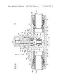 FLOW RATE CONTROL VALVE diagram and image