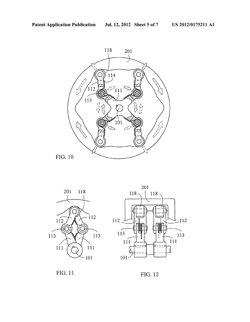 COMPELLING-TYPE RADIAL CLUTCH DEVICE WITH C-SHAPED JOINT STRUCTURE - diagram, schematic, and image 06