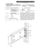 MOUNTING APPARATUS FOR SLIDE RAIL diagram and image