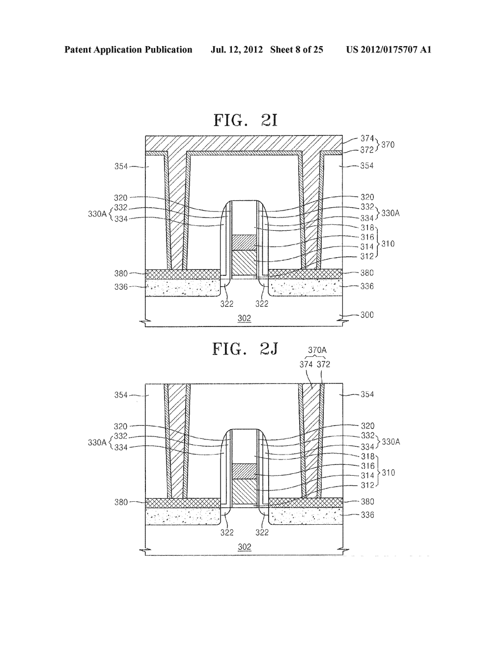 SEMICONDUCTOR DEVICE INCLUDING METAL SILICIDE LAYER AND FABRICATION METHOD     THEREOF - diagram, schematic, and image 09
