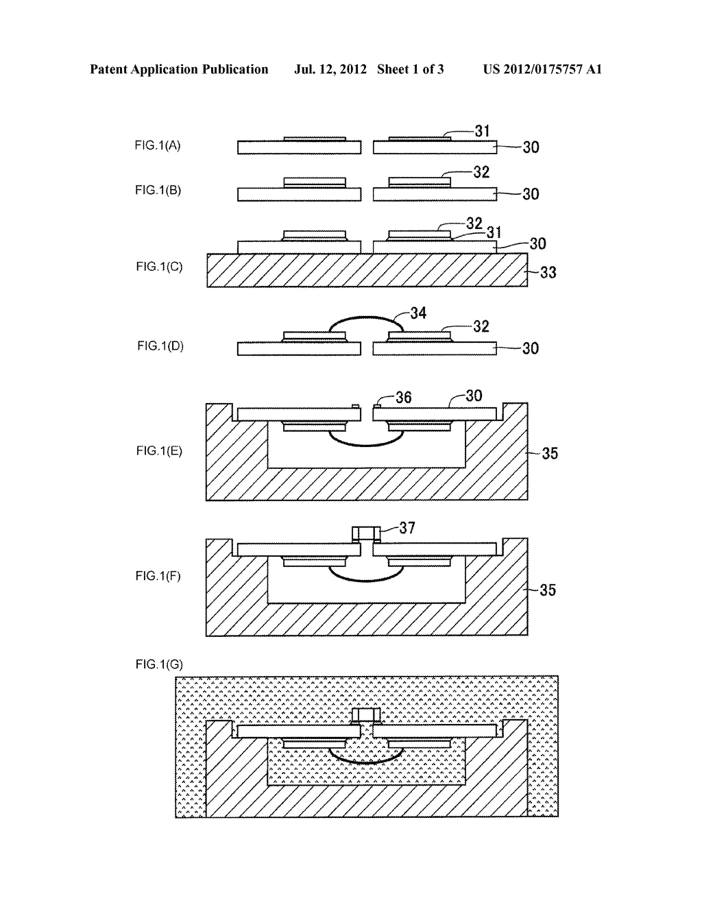 METHOD OF MANUFACTURING SEMICONDUCTOR APPARATUS, THE SEMICONDUCTOR     APPARATUS, AND IGNITOR USING THE SEMICONDUCTOR APPARATUS - diagram, schematic, and image 02