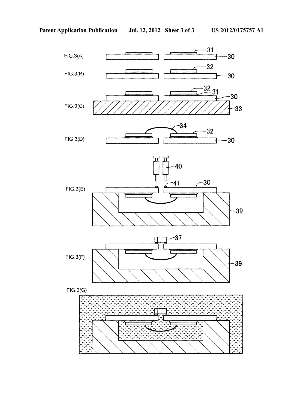 METHOD OF MANUFACTURING SEMICONDUCTOR APPARATUS, THE SEMICONDUCTOR     APPARATUS, AND IGNITOR USING THE SEMICONDUCTOR APPARATUS - diagram, schematic, and image 04
