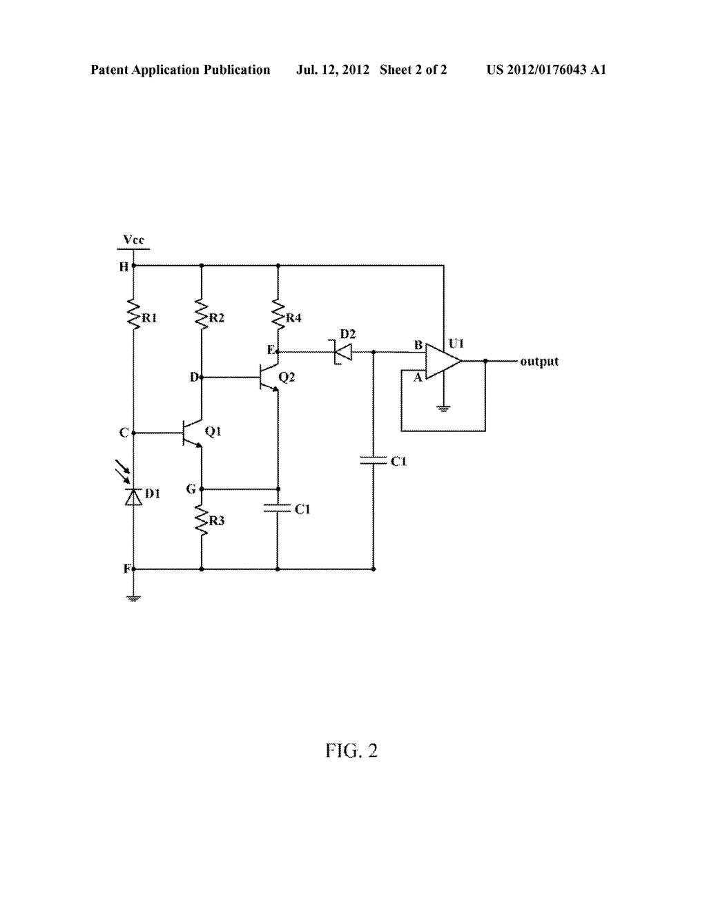 LIGHT CONTROL SIGNAL GENERATING CIRCUIT - diagram, schematic, and image 03