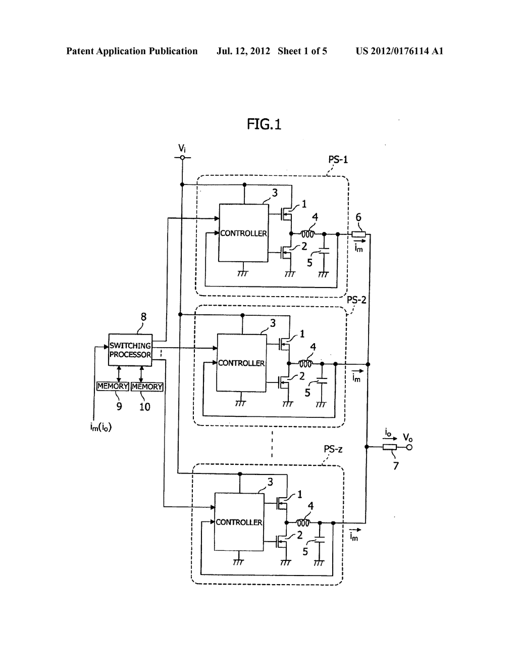 POWER SUPPLY SYSTEM, CONTROLLER  THEREFOR, AND METHOD OF  MANUFACTURE OF     CONTROLLER - diagram, schematic, and image 02