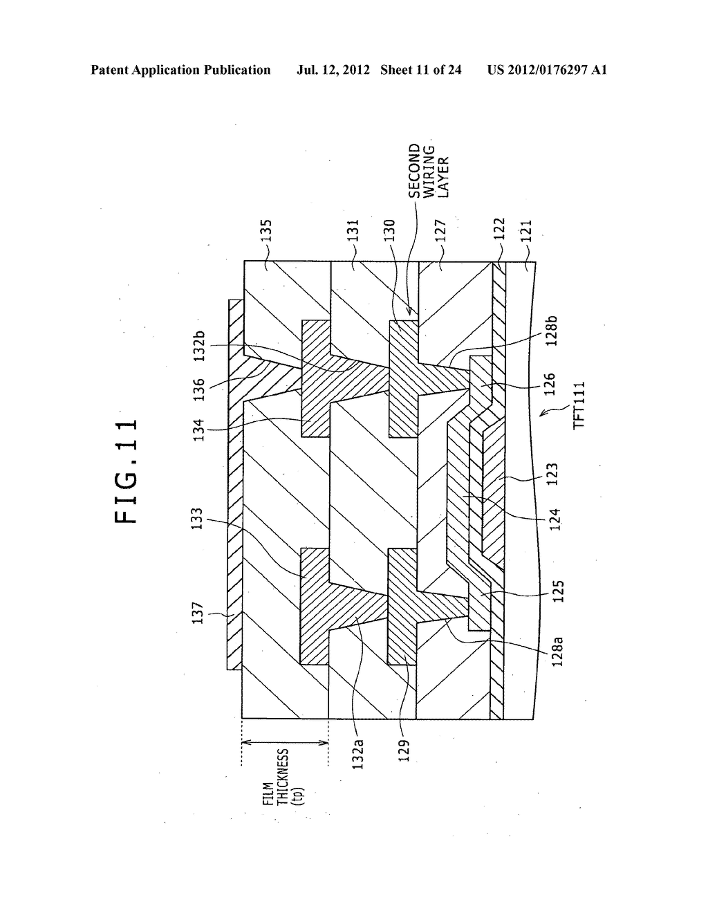 PIXEL CIRCUIT AND DISPLAY DEVICE, AND A METHOD OF MANUFACTURING PIXEL     CIRCUIT - diagram, schematic, and image 12