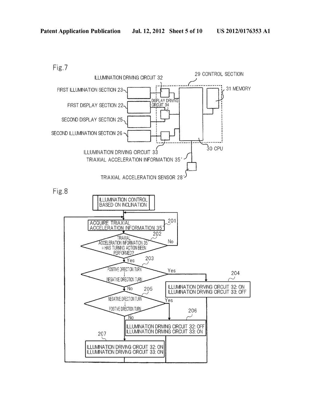 MOBILE INFORMATION APPARATUS AND DISPLAY CONTROL METHOD - diagram, schematic, and image 06