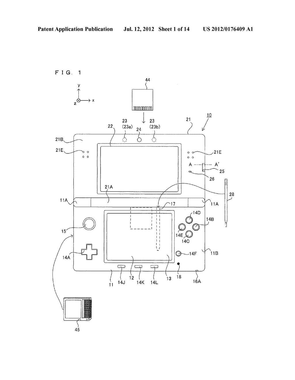 Computer-Readable Storage Medium Having Image Processing Program Stored     Therein, Image Processing Apparatus, Image Processing System, and Image     Processing Method - diagram, schematic, and image 02