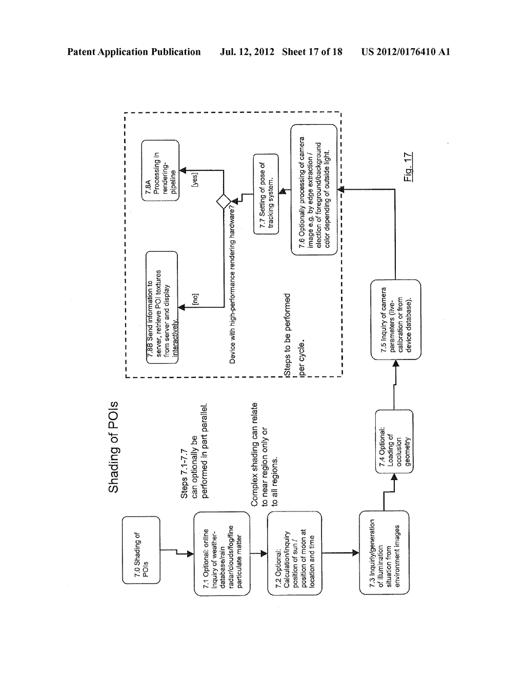 METHOD FOR REPRESENTING VIRTUAL INFORMATION IN A REAL ENVIRONMENT - diagram, schematic, and image 18