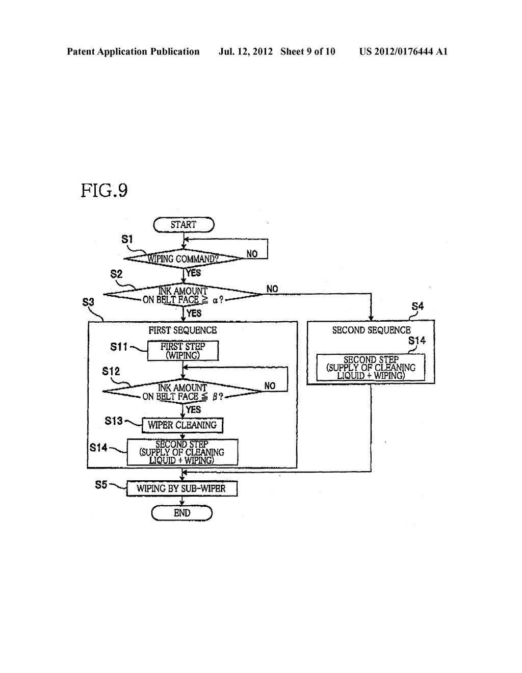 LIQUID EJECTION APPARATUS, CONTROLLER THEREFOR, NONVOLATILE STORAGE MEDIUM     STORING PROGRAM TO BE EXECUTED BY THE APPARATUS - diagram, schematic, and image 10