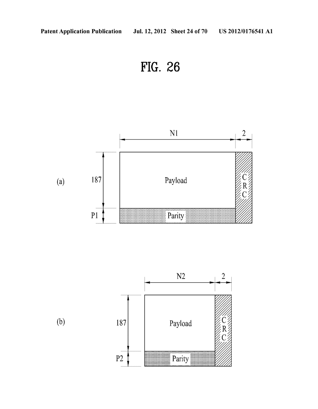 TRANSMITTING/RECEIVING SYSTEM AND METHOD OF PROCESSING BROADCAST SIGNAL IN     TRANSMITTING/RECEIVING SYSTEM - diagram, schematic, and image 25