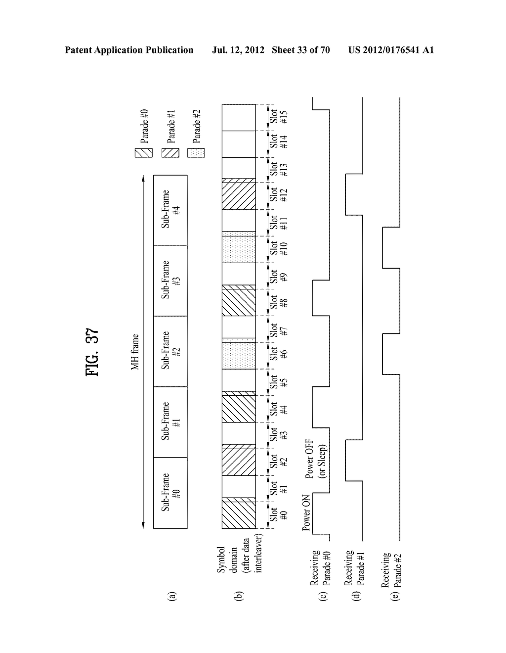TRANSMITTING/RECEIVING SYSTEM AND METHOD OF PROCESSING BROADCAST SIGNAL IN     TRANSMITTING/RECEIVING SYSTEM - diagram, schematic, and image 34