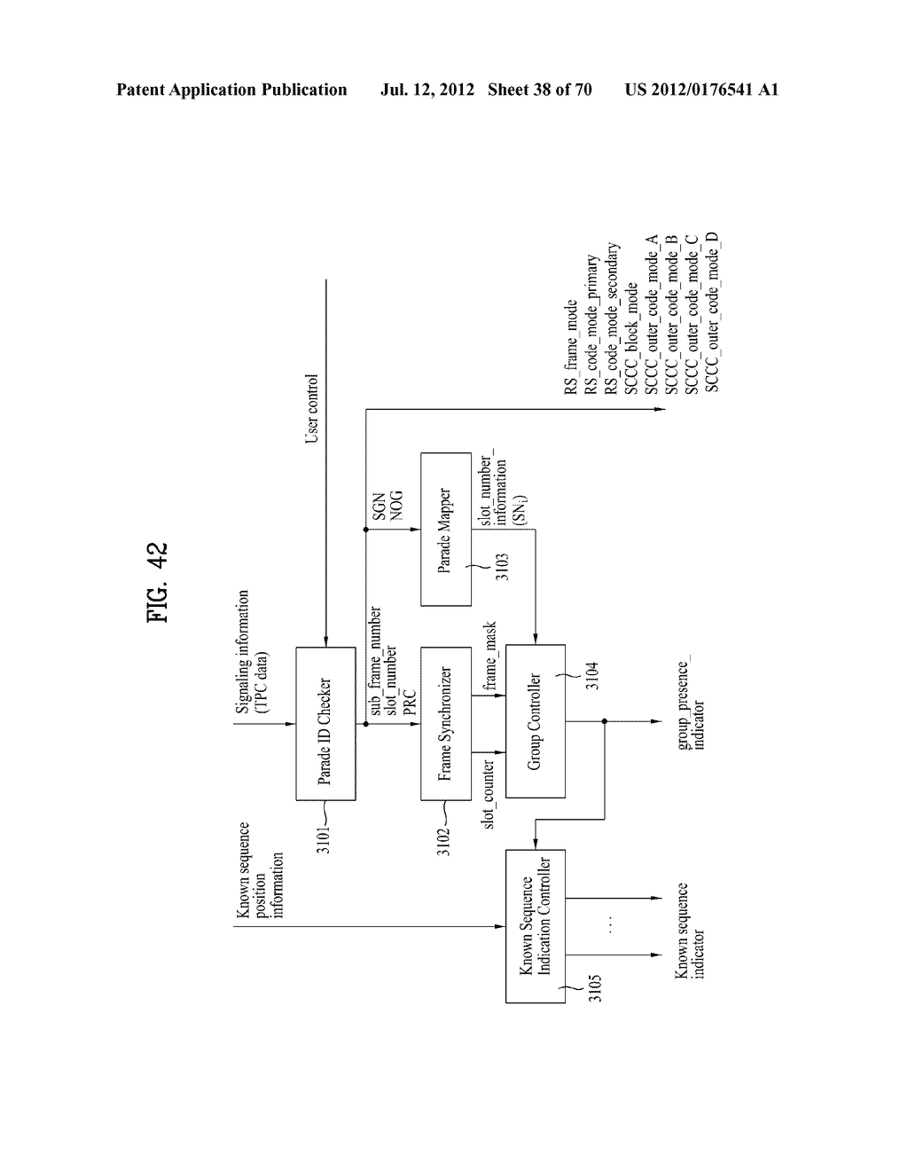 TRANSMITTING/RECEIVING SYSTEM AND METHOD OF PROCESSING BROADCAST SIGNAL IN     TRANSMITTING/RECEIVING SYSTEM - diagram, schematic, and image 39