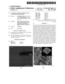 NANOSTRUCTURED ANTI-REFLECTIVE COATINGS FOR SUBSTRATES diagram and image