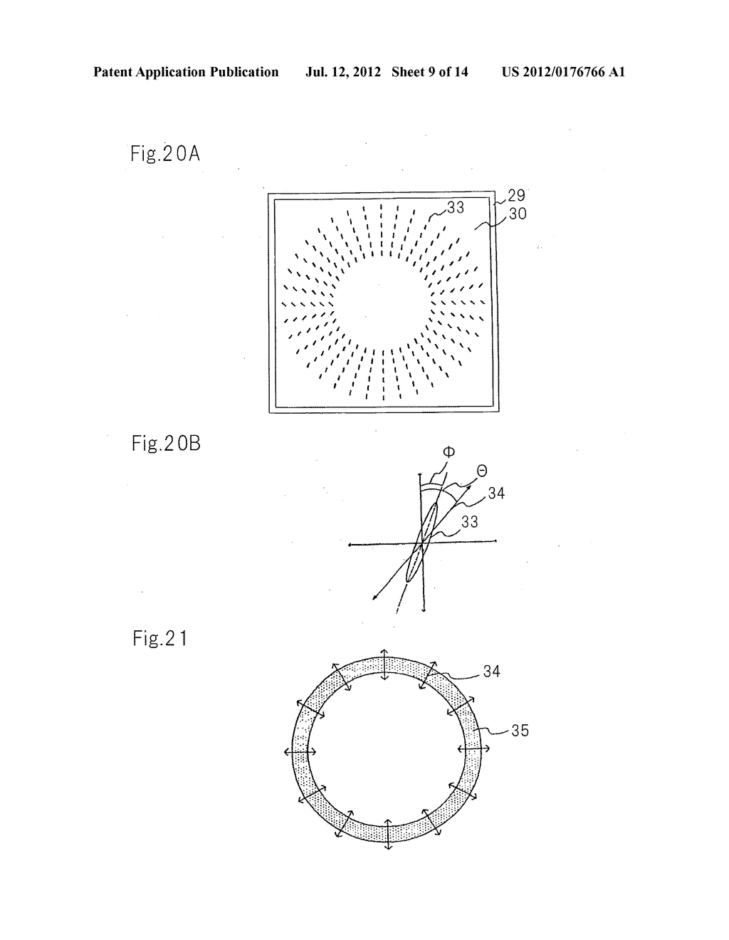 OPTICAL ELEMENT, LIGHT SOURCE DEVICE, AND PROJECTION DISPLAY DEVICE - diagram, schematic, and image 10