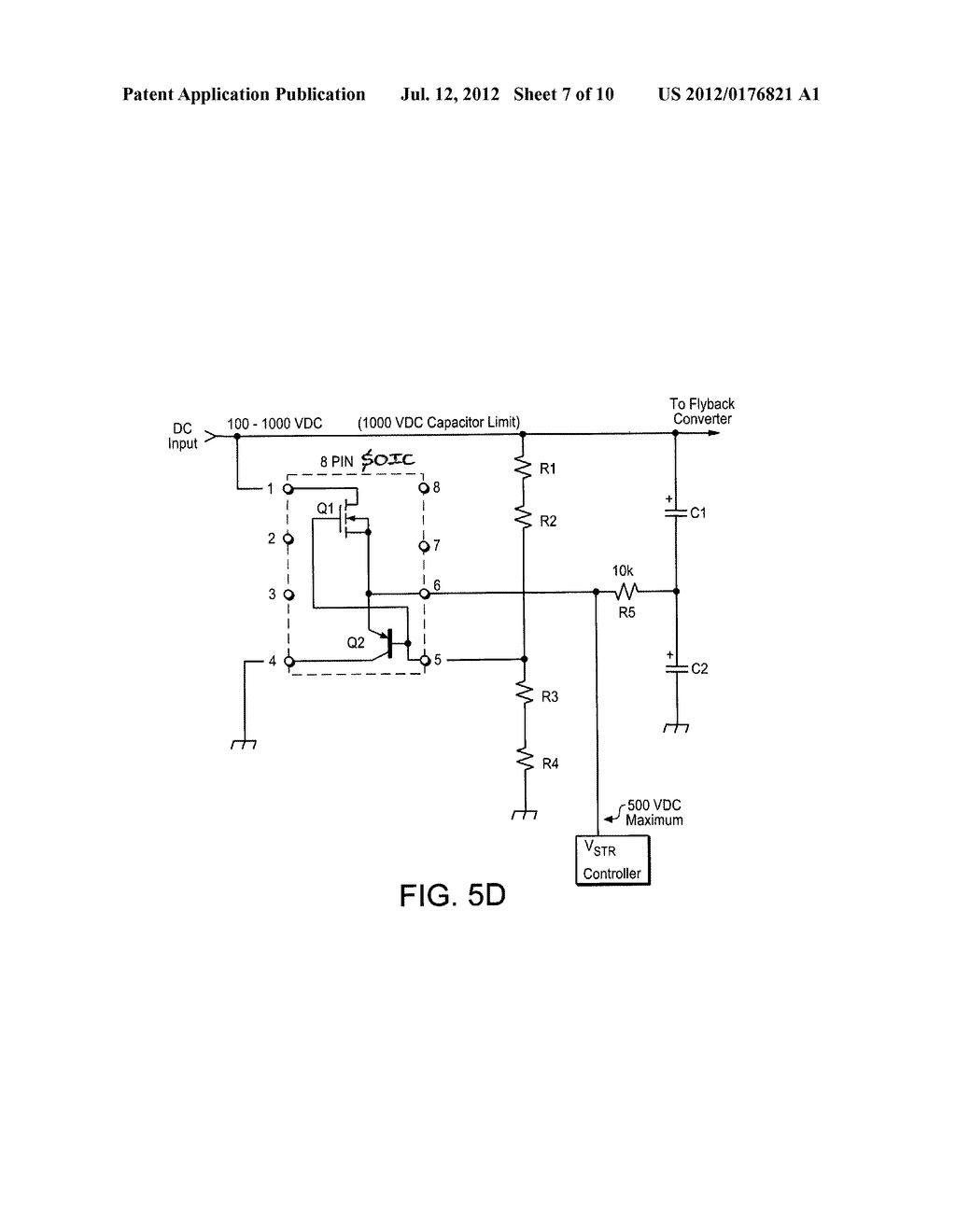 Startup Circuit And Input Capacitor Balancing Diagram Schematic Image 08