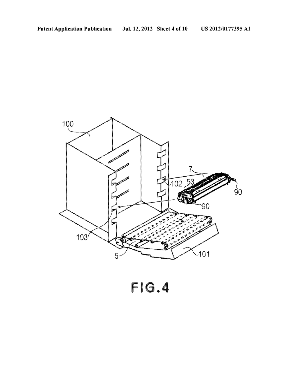 PROCESS CARTRIDGE AND ELECTROPHOTROGRAPHIC IMAGE FORMING APPARATUS - diagram, schematic, and image 05