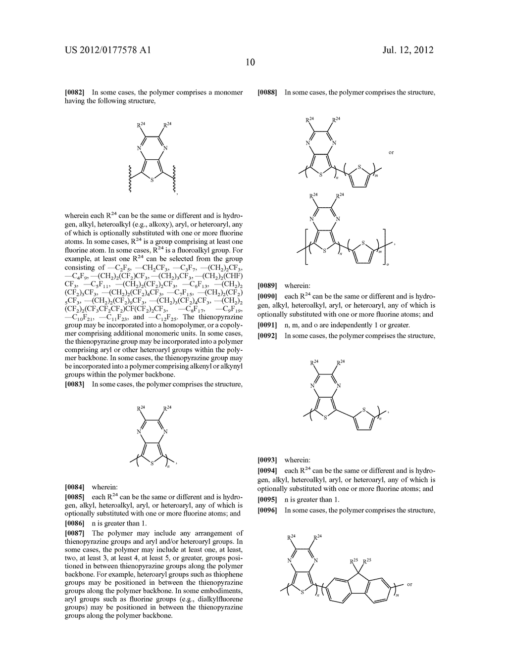 COMPOSITIONS, METHODS, AND SYSTEMS COMPRISING FLUOROUS-SOLUBLE POLYMERS - diagram, schematic, and image 35