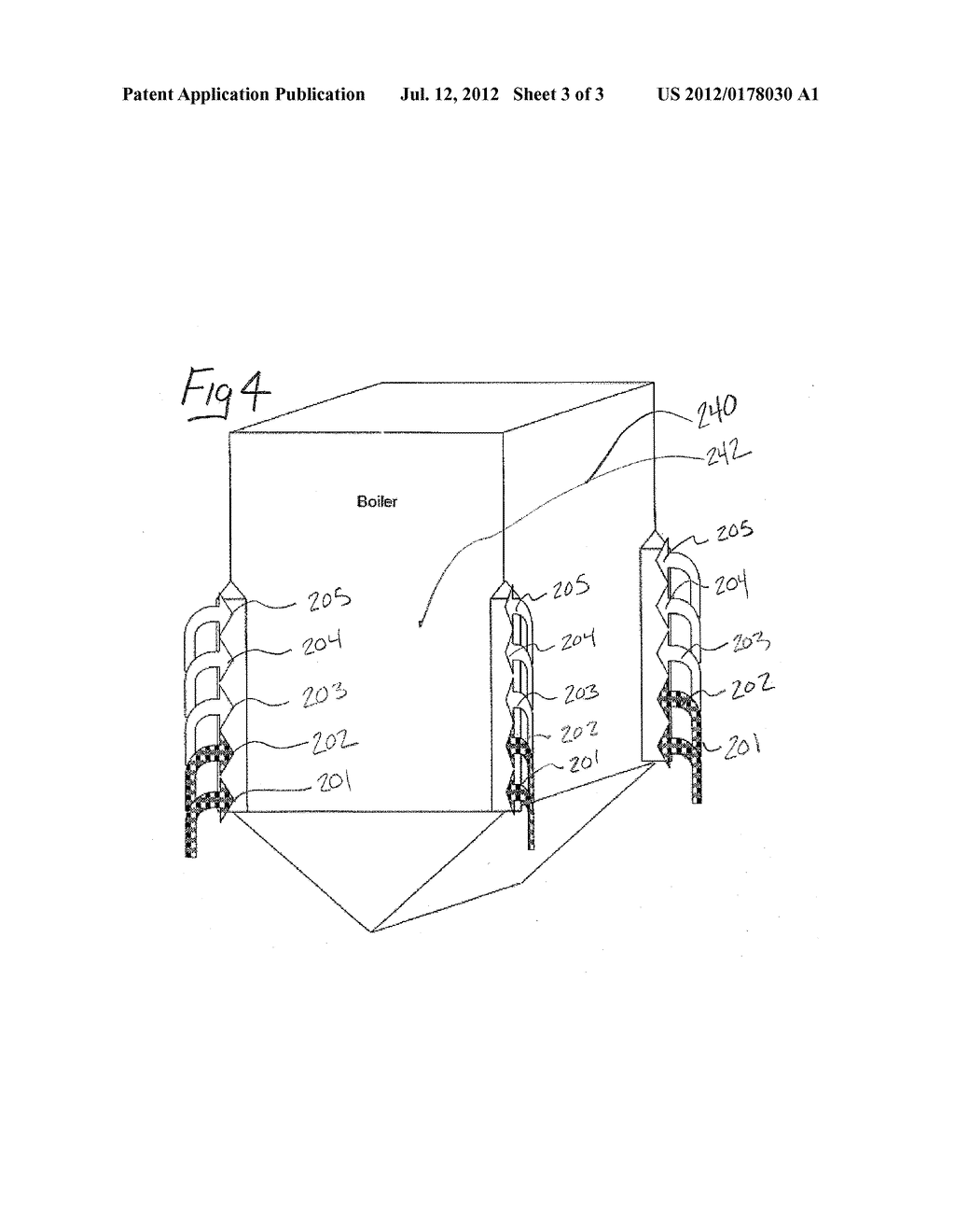 SYSTEM AND METHOD FOR REDUCING EMISSIONS FROM A BOILER - diagram, schematic, and image 04