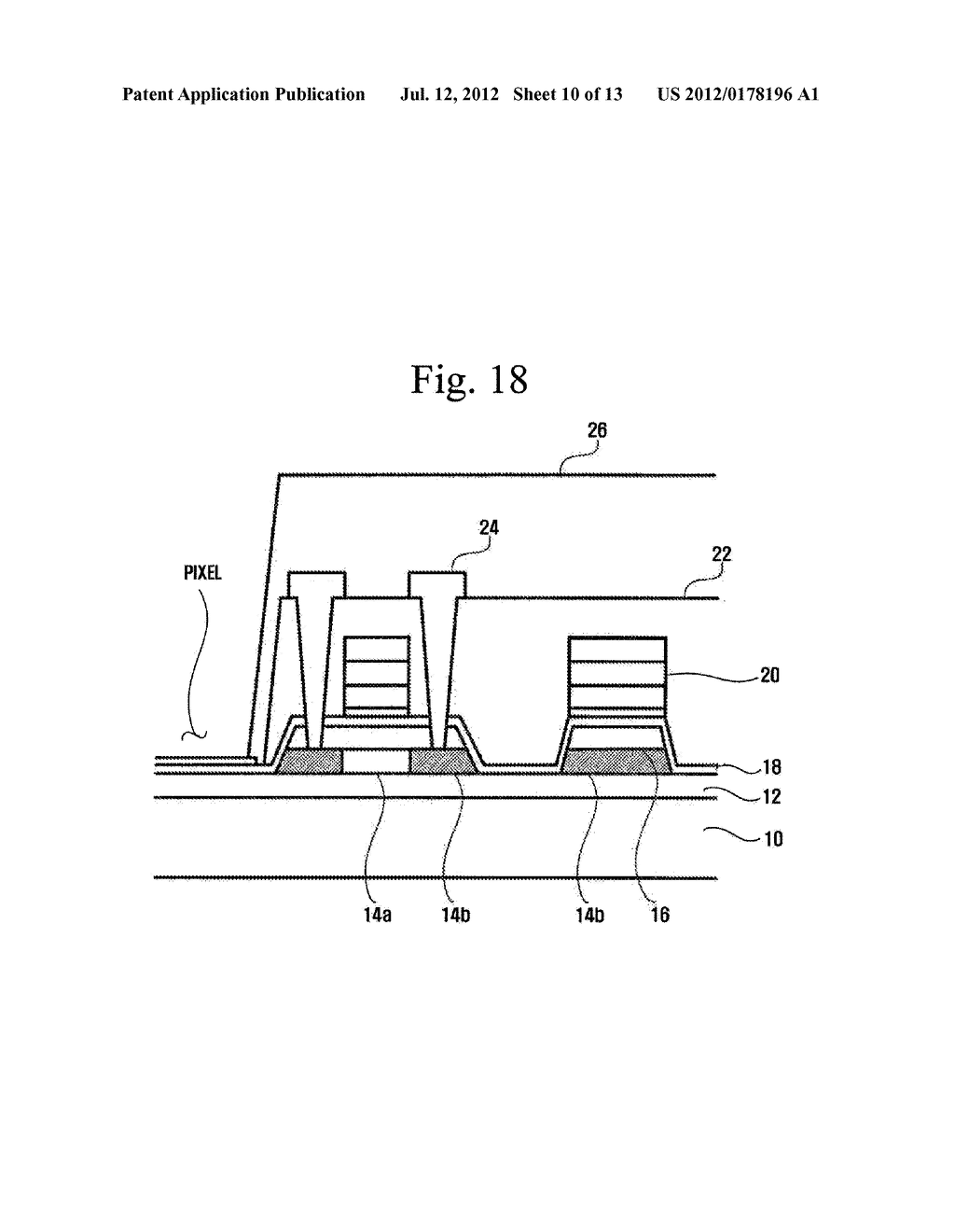 METHOD OF MANUFACTURING ORGANIC LIGHT-EMITTING DISPLAY DEVICE - diagram, schematic, and image 11