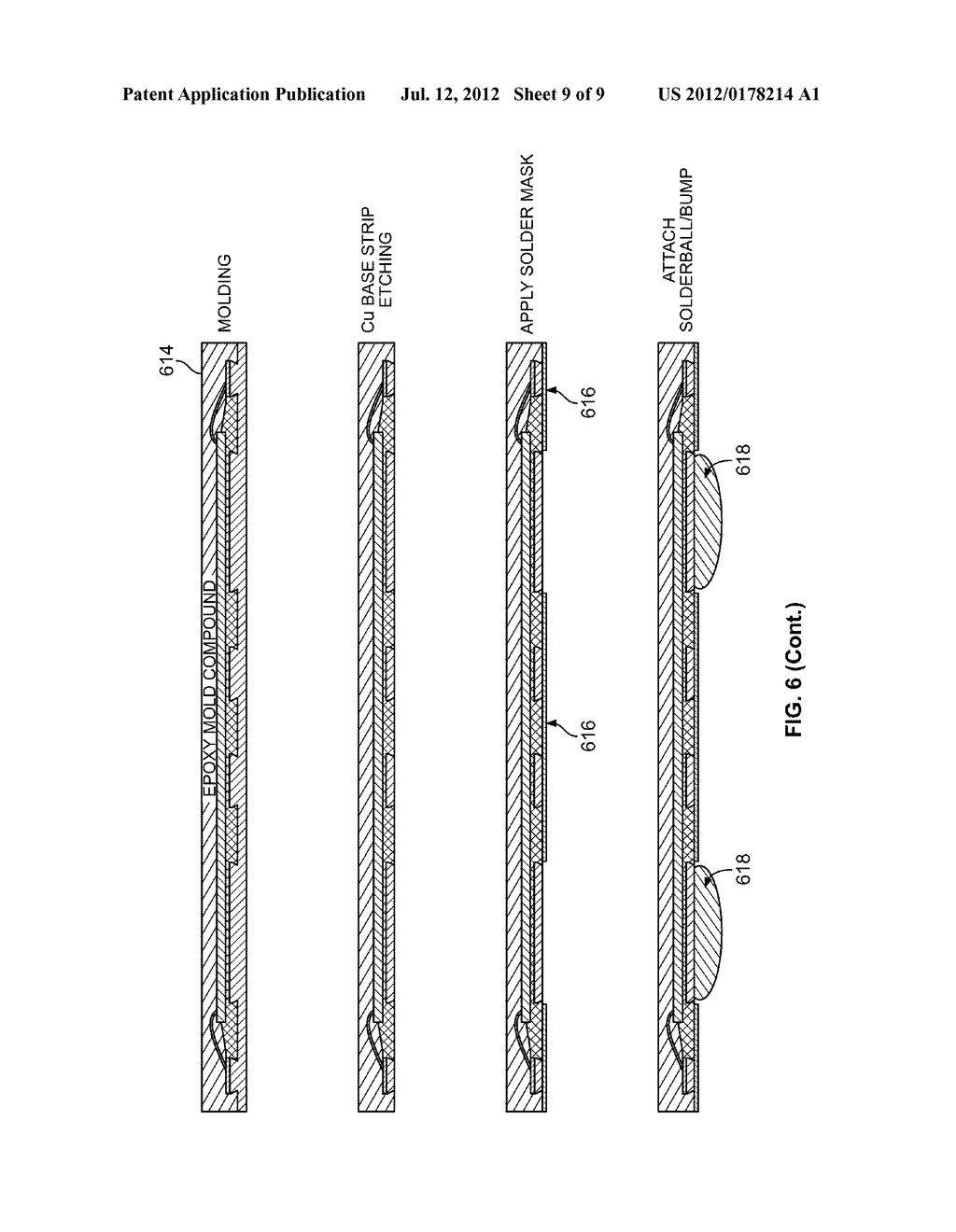 ROUTABLE ARRAY METAL INTEGRATED CIRCUIT PACKAGE FABRICATED