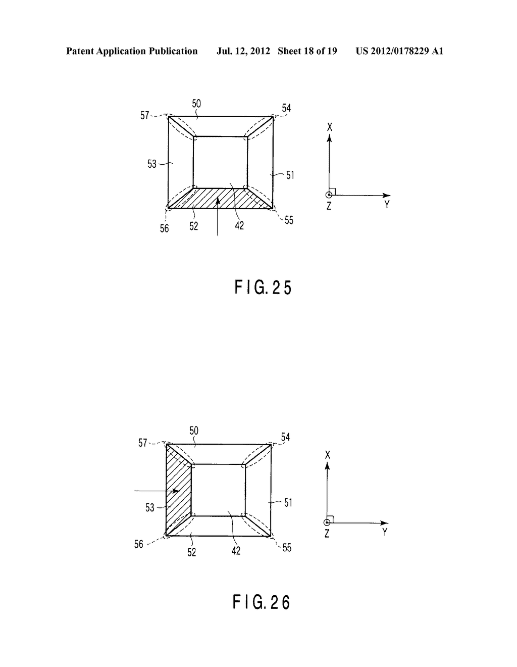 SEMICONDUCTOR MEMORY DEVICE WITH STACKED GATE INCLUDING CHARGE STORAGE     LAYER AND CONTROL GATE AND METHOD OF MANUFACTURING THE SAME - diagram, schematic, and image 19