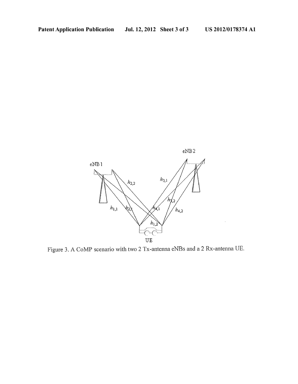 METHOD AND SYSTEM FOR SPATIAL CSI FEEDBACK FOR COORDINATED MULTI-POINT     PROCESSING (CoMP) - diagram, schematic, and image 04
