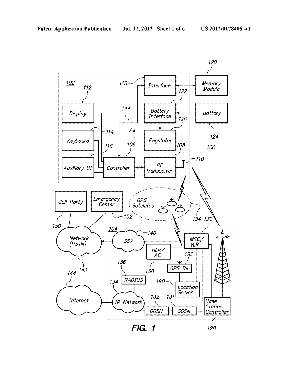 METHODS AND APPARATUS FOR USE IN PROCESSING DISCONNECTED EMERGENCY CALLS     AND OTHER COMMUNICATIONS INVOLVING MOBILE COMMUNICATION DEVICES AND THE     REMOTE MONITORING THEREOF - diagram, schematic, and image 02
