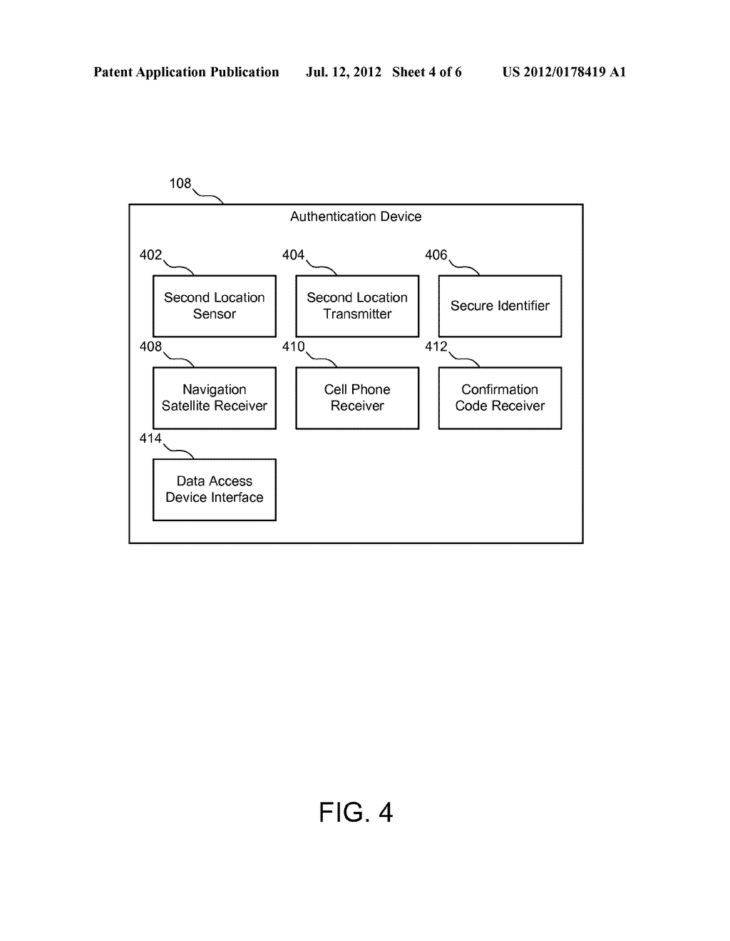 SYSTEM, METHOD, AND APPARATUS FOR PROXIMITY-BASED AUTHENTICATION FOR     MANAGING PERSONAL DATA - diagram, schematic, and image 05